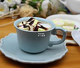 暖暖巧克力咖啡的做法