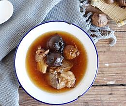 #秋天怎么吃#黑蒜筒骨汤-滋阴润燥的做法