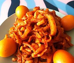 鲜香麻辣萝卜干小菜的做法