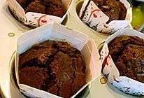 黑巧克力熔岩麦芬的做法