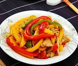 水果入菜的美味--芒果鸡柳的做法