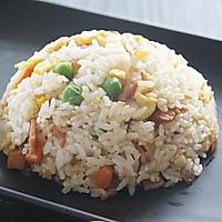 饭菜合一的营养低卡简餐-培根炒饭的做法图解10