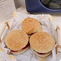 #丘比三明治#鸡肉汉堡的做法图解9