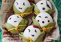 #我要上首焦#呆萌可爱的粽子馒头的做法