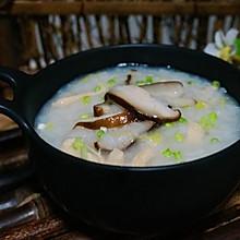 鸡丝香菇粥