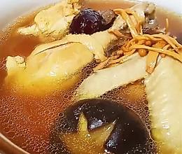 #福气年夜菜#虫草花炖鸡汤的做法
