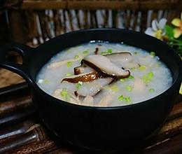 鸡丝香菇粥的做法