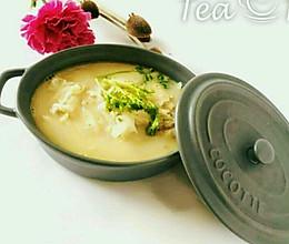 养生香浓白萝卜汤!的做法
