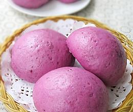牛奶紫薯馍馍的做法