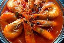 番茄酱大虾的做法