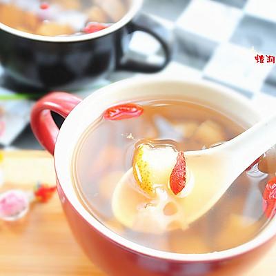 春季润肺止咳之---三白汤