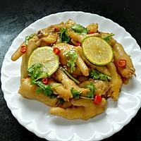#一人一道拿手菜#小清新柠檬鸡爪的做法图解9
