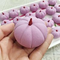 紫薯南瓜饼的做法图解8