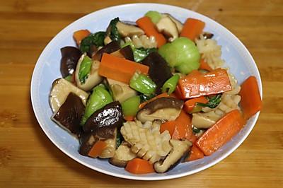 十分钟上班族快菜鲜蔬海鲜组合