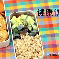 健康便当15(豆腐鸡胸肉饼+胡萝卜炒口蘑)的做法图解6