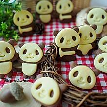 萌翻天熊猫饼干