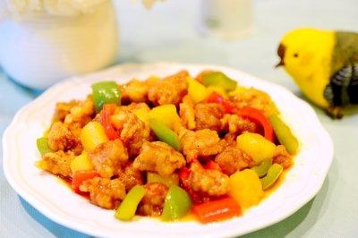 粤菜-菠萝咕噜肉(咕咾肉)十二道锋味复刻做出极致的甜酸