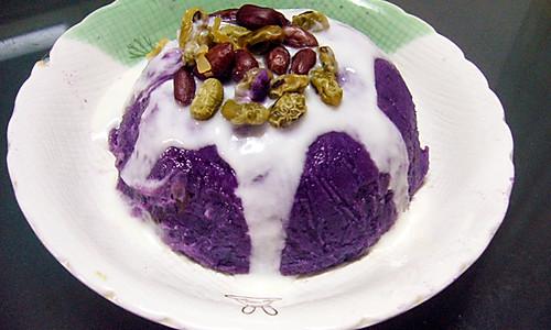 酸奶紫薯泥的做法
