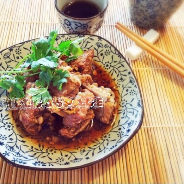 简单又好吃的蚝油蒜蓉蒸排骨