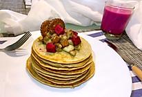美味早餐之香蕉松饼的做法