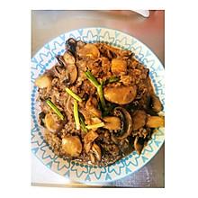 牛肉卷炒香菇