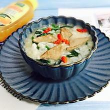 #肉食者联盟#菠菜猪肝粥