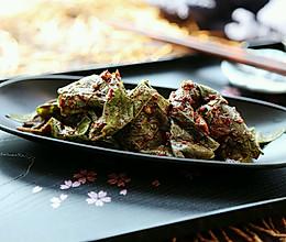 韩式腌紫苏叶的做法