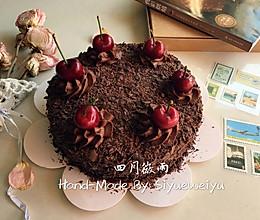 黑深林蛋糕的做法