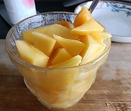 芒果苏打水的做法