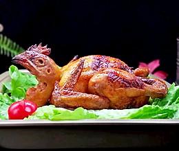 预热感恩节~烤全鸡的做法