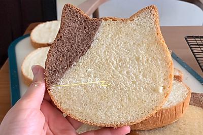喵~可爱猫头吐司