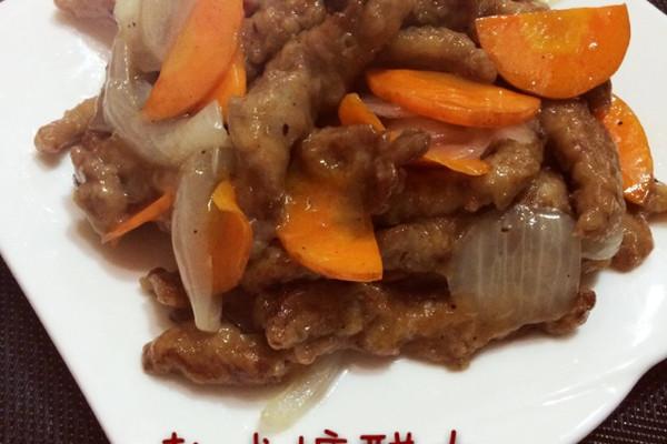 韩式糖醋肉的做法