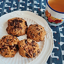 巧克力曲奇饼干~含两种口感方法