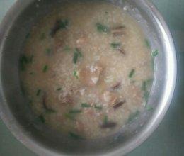 冬菇滑鸡粥的做法