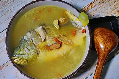陈皮黄鱼汤