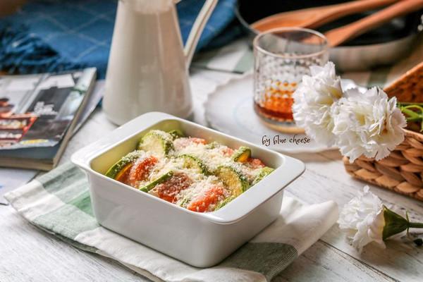 芝士蔬菜焗三文鱼