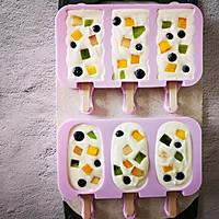不打蛋没冰渣的酸奶水果冰激淋的做法图解8