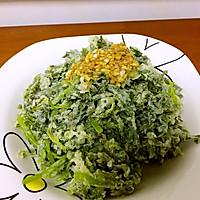 蒸茼蒿(蒸菜)的做法图解6