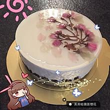 冻芝士樱花蛋糕