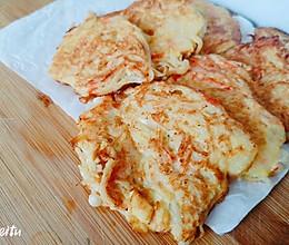 海鲜大咖小海鲜饼的做法