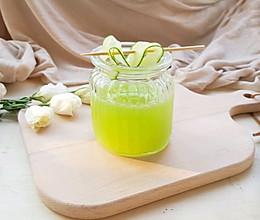 蜂蜜青瓜饮#夏日冰品不能少#的做法