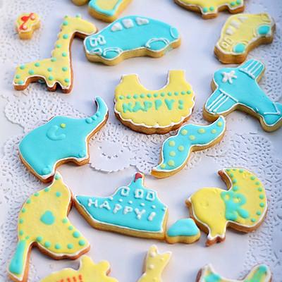 可爱香草糖霜饼干