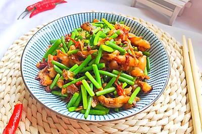 #钟于经典传统味#年夜饭春节必备的简单快手爆炒鱿鱼须