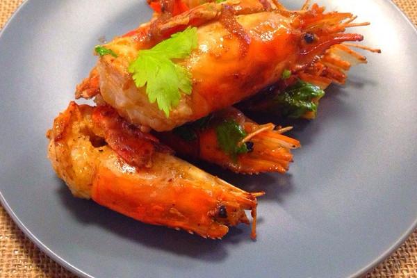 黑椒大虾的做法