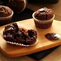 【巧克力碎块杯子蛋糕】的做法图解8