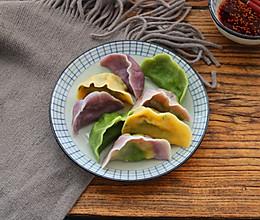 秋季养生菠菜鸡蛋素饺子的做法