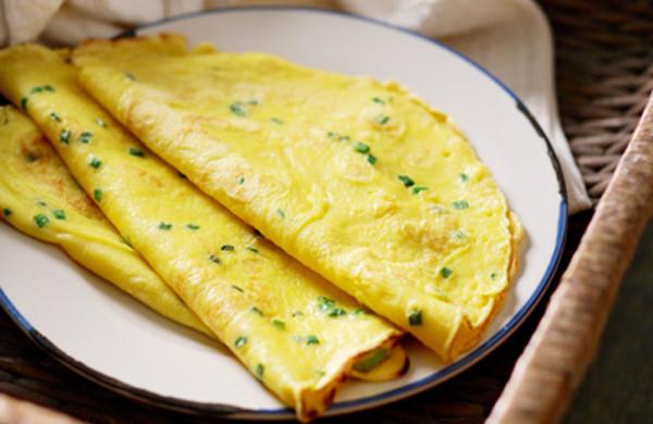 葱花蛋饼,快手营养早餐