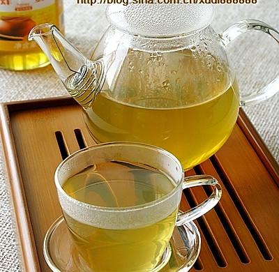 荷叶山楂蜂蜜茶