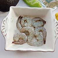 牛油果虾仁沙拉的做法图解4