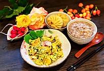 初夏时节萝卜缨炒鸡蛋的做法